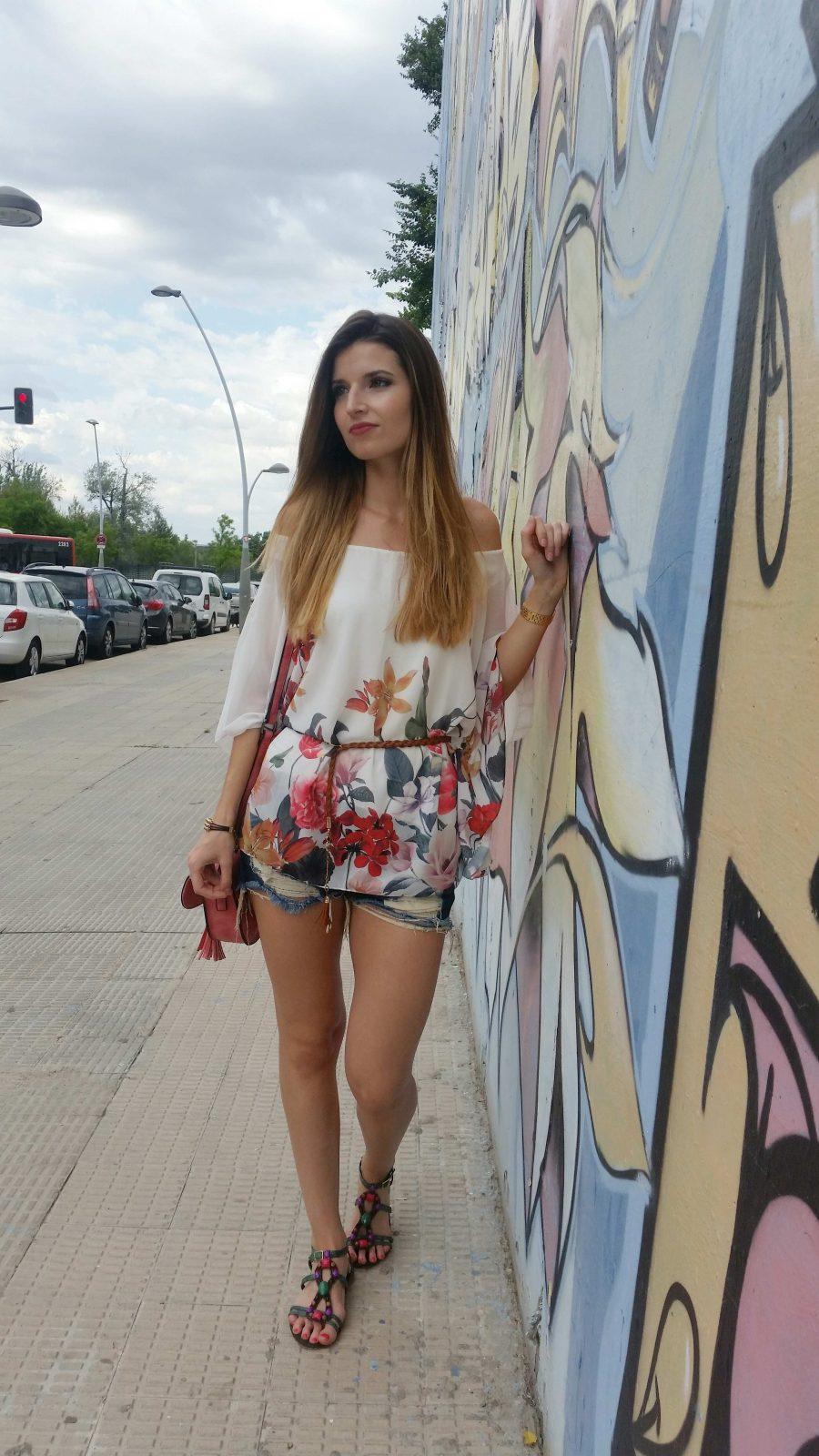 marikowskaya street style andrea shorts (2)