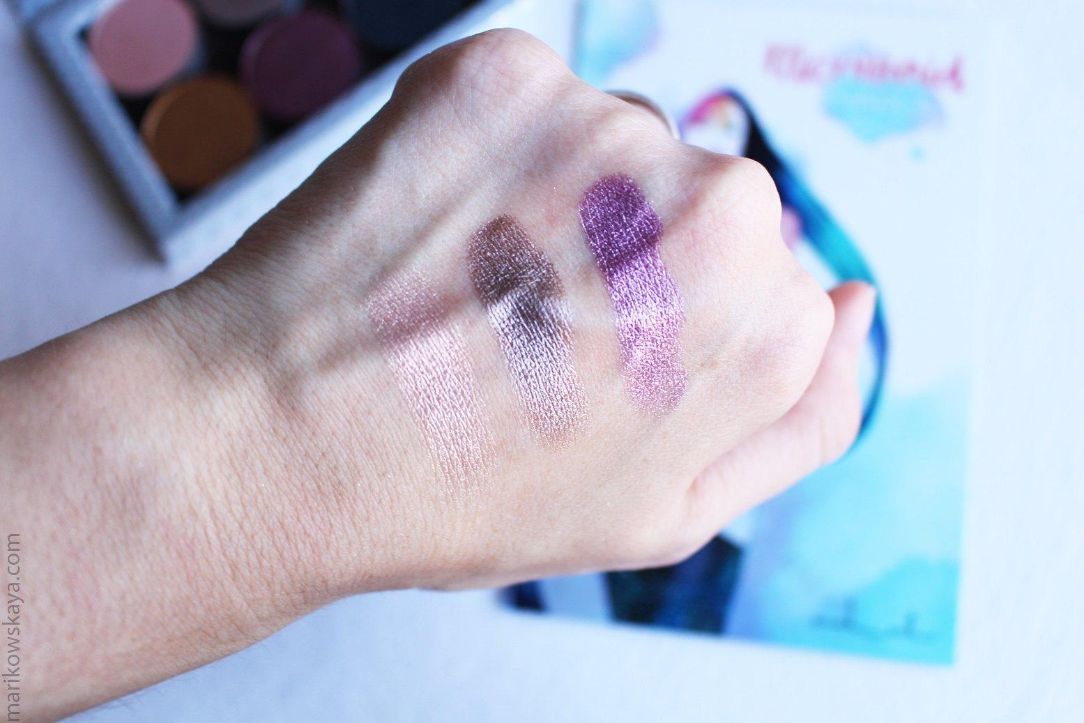 nabla mermaid collection - swatches 2