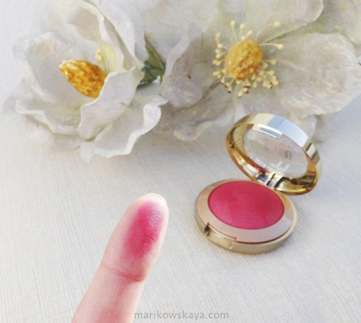top5 coloretes milani bella rosa