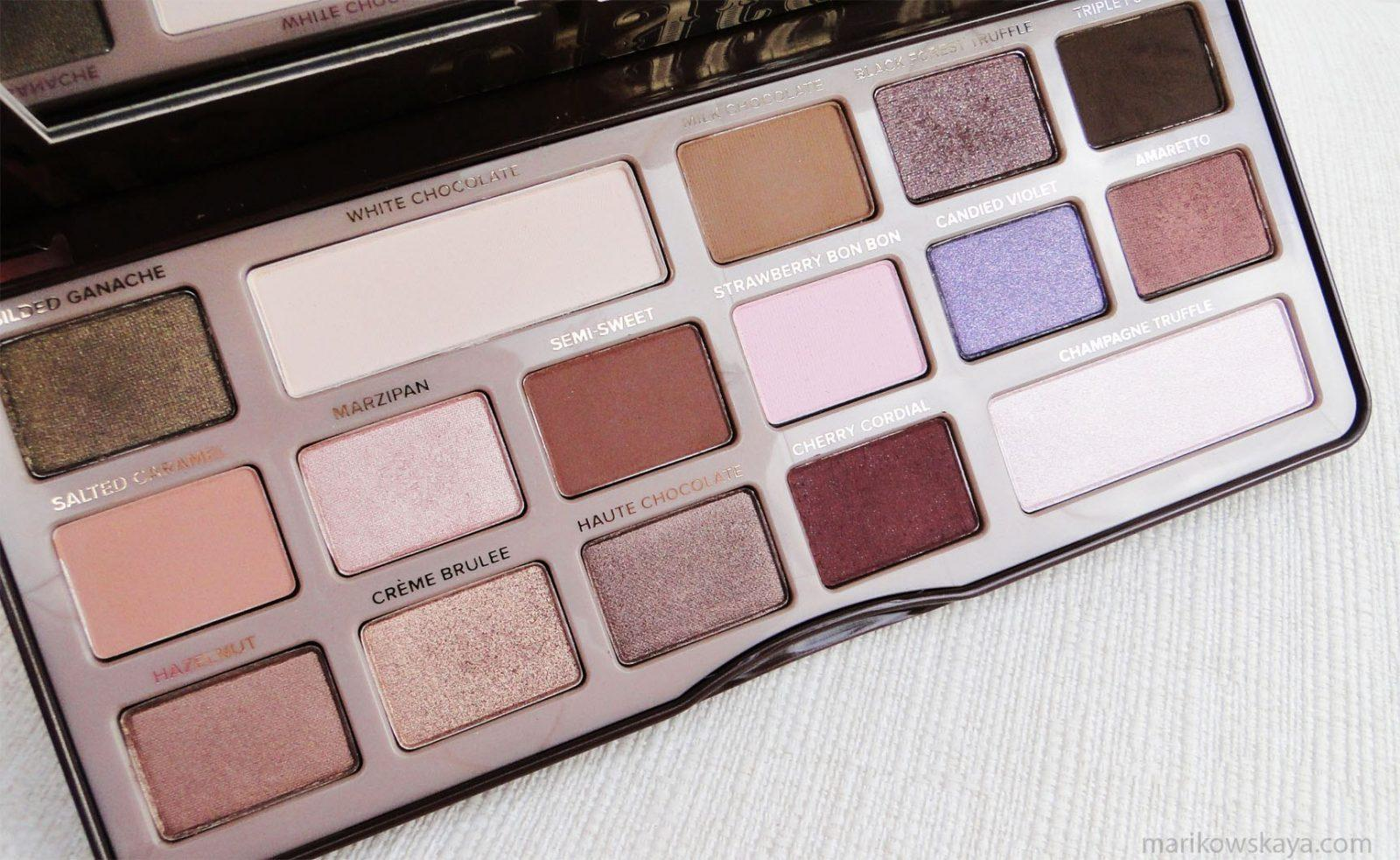 descubrimientos 2015 chocolate bar too faced 2