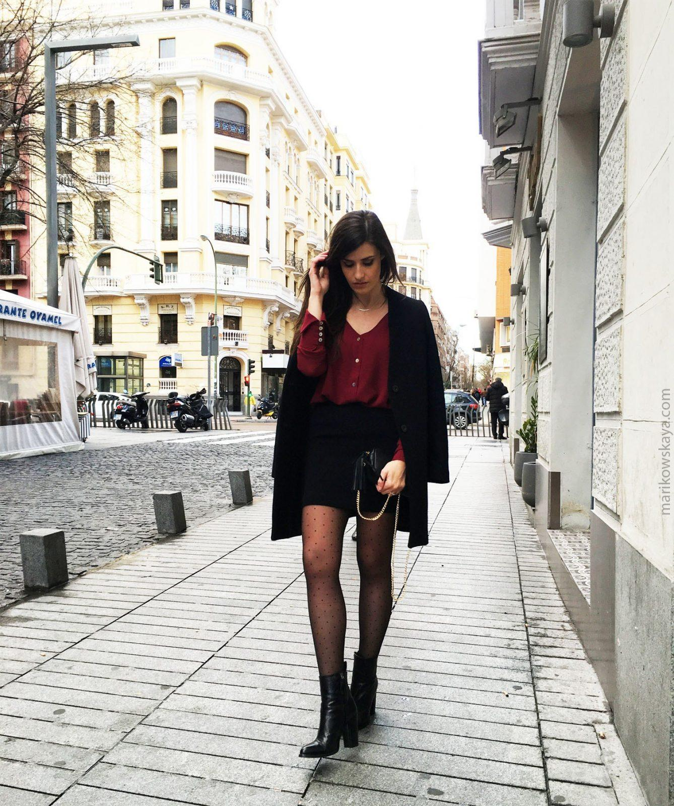 marikowskaya street style burgundy 6