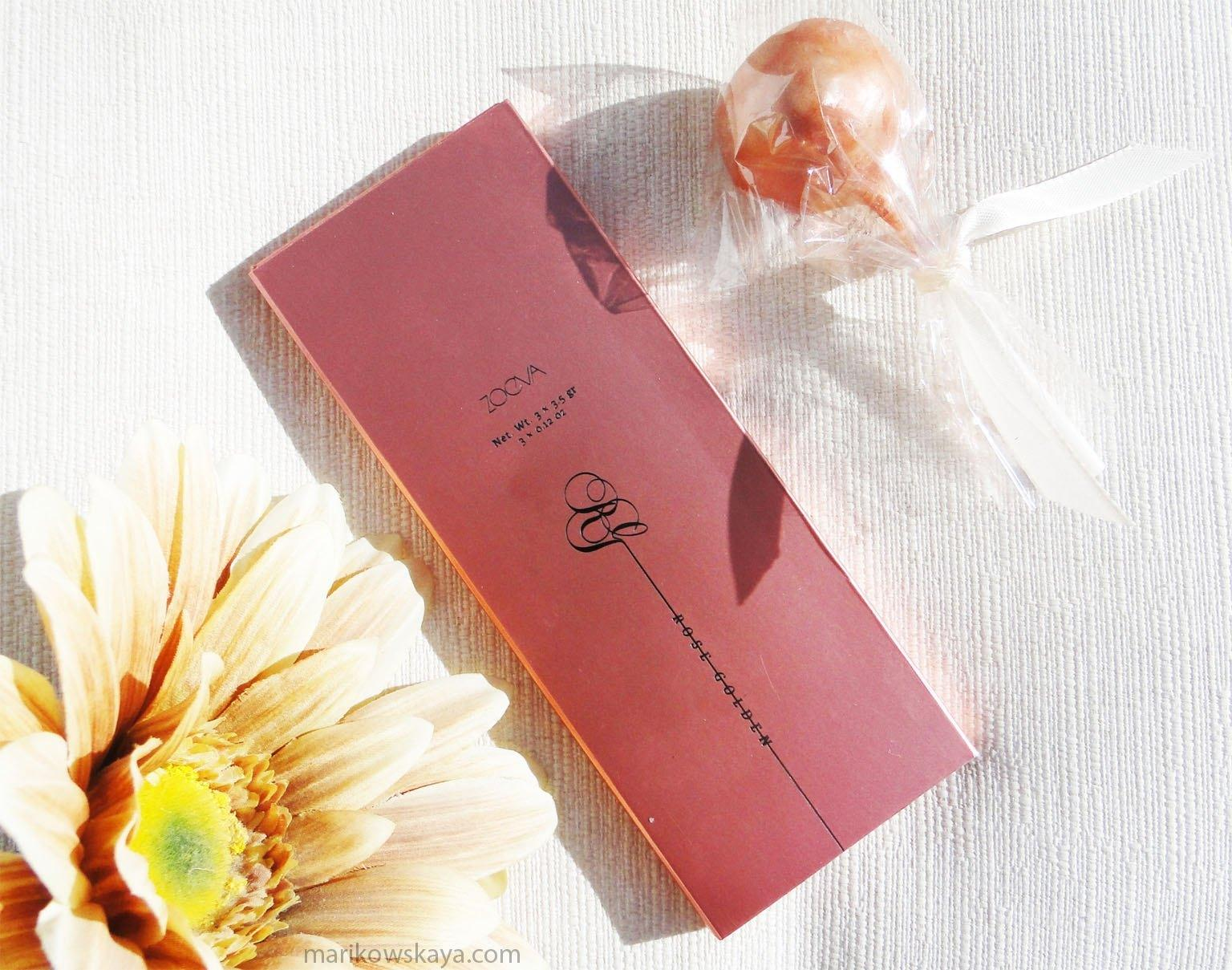 rose golden blush palette zoeva