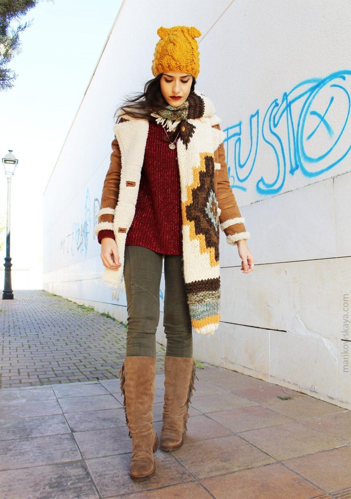 marikowskaya street style botas con flecos 4