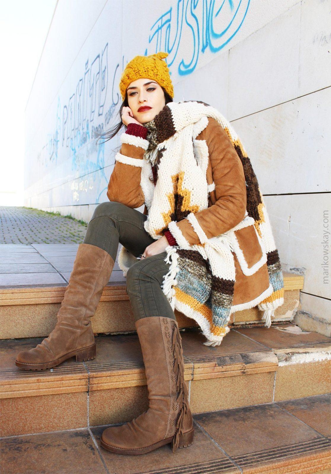 marikowskaya street style botas con flecos 6