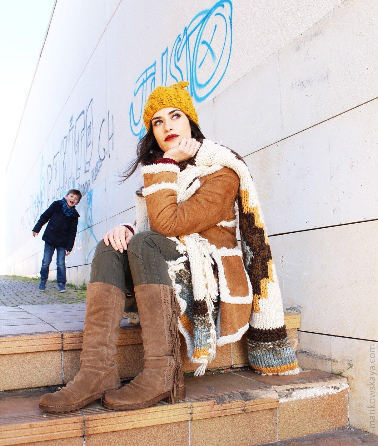 marikowskaya street style botas con flecos 7