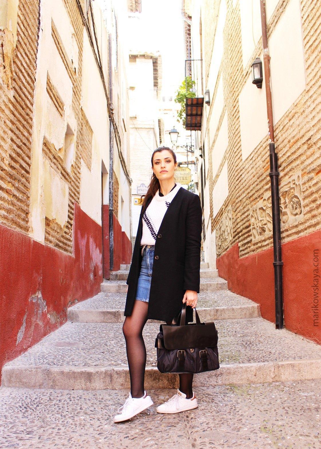 marikowskaya street style stan smith 3