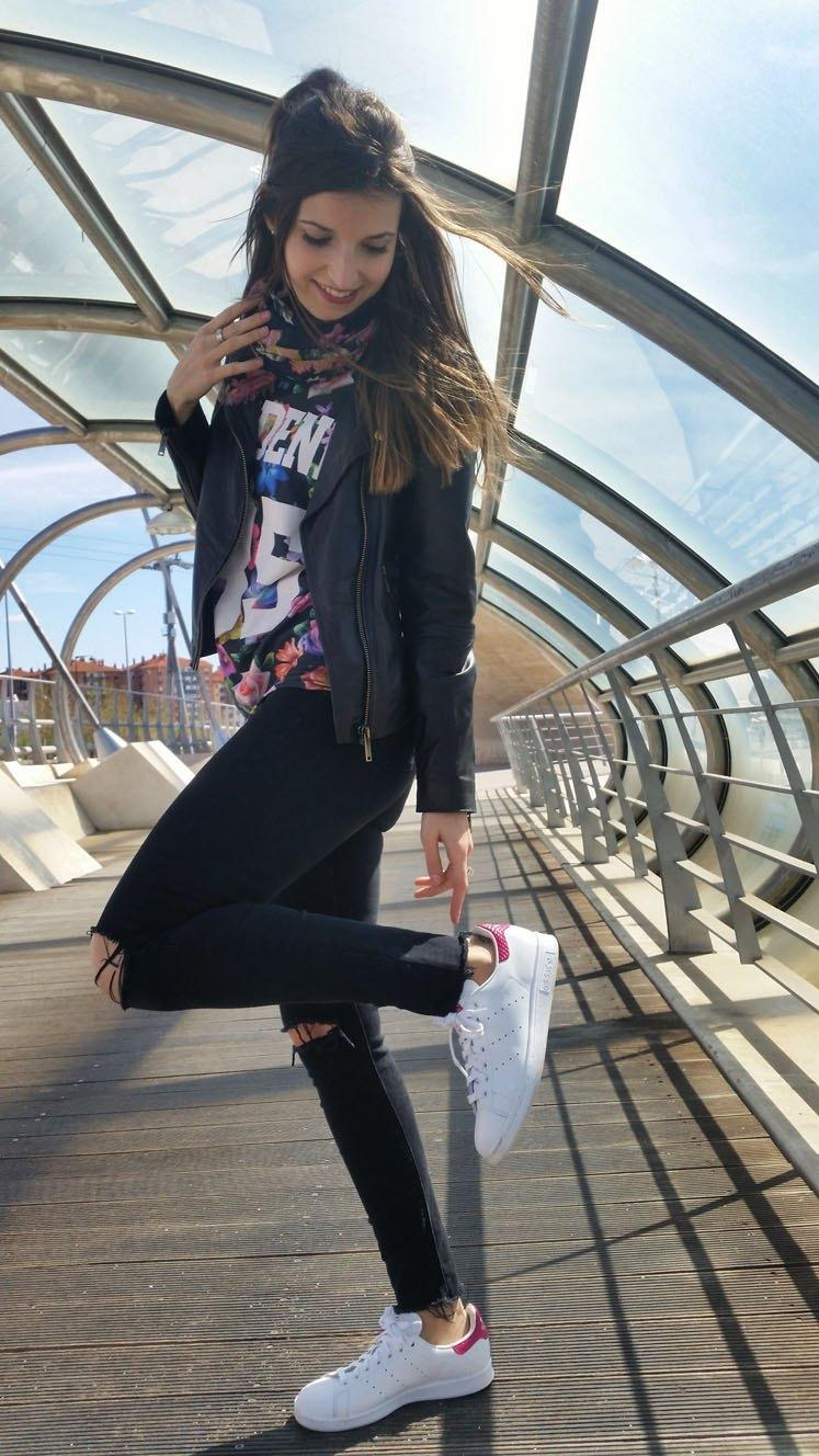 marikowskaya street style andrea stan smith adidas (5)