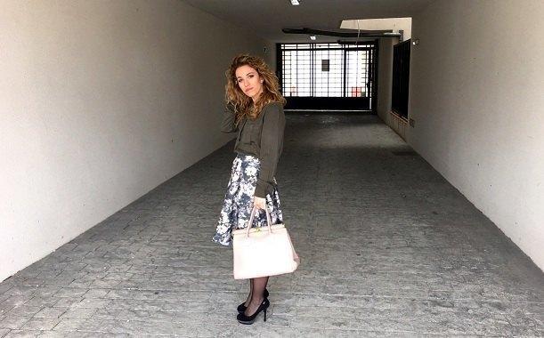 marikowskaya street style jennifer midi skirt (1)