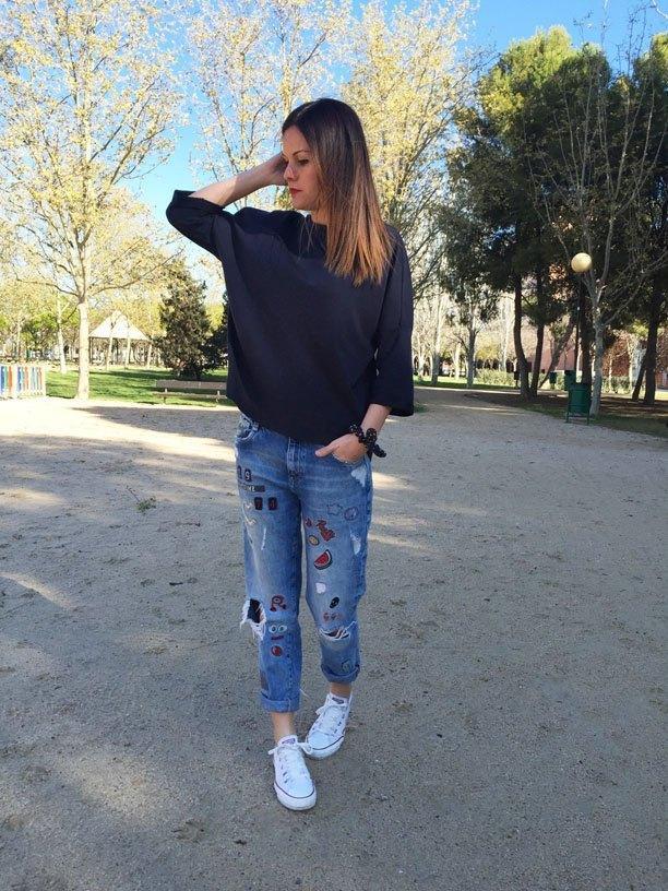 marikowskaya street style jenny boyfriend jeans