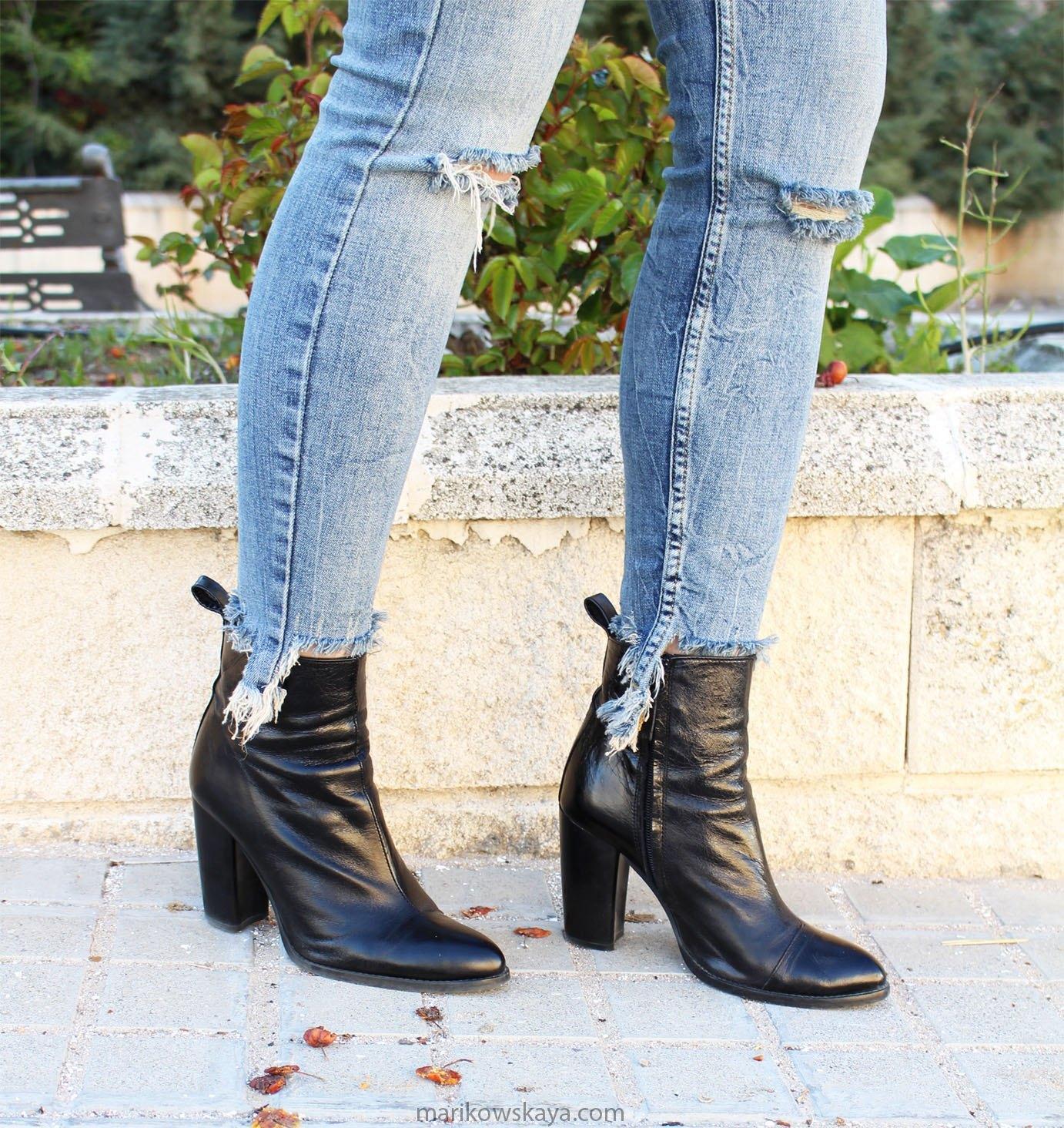 marikowskaya street style ripped jeans 12