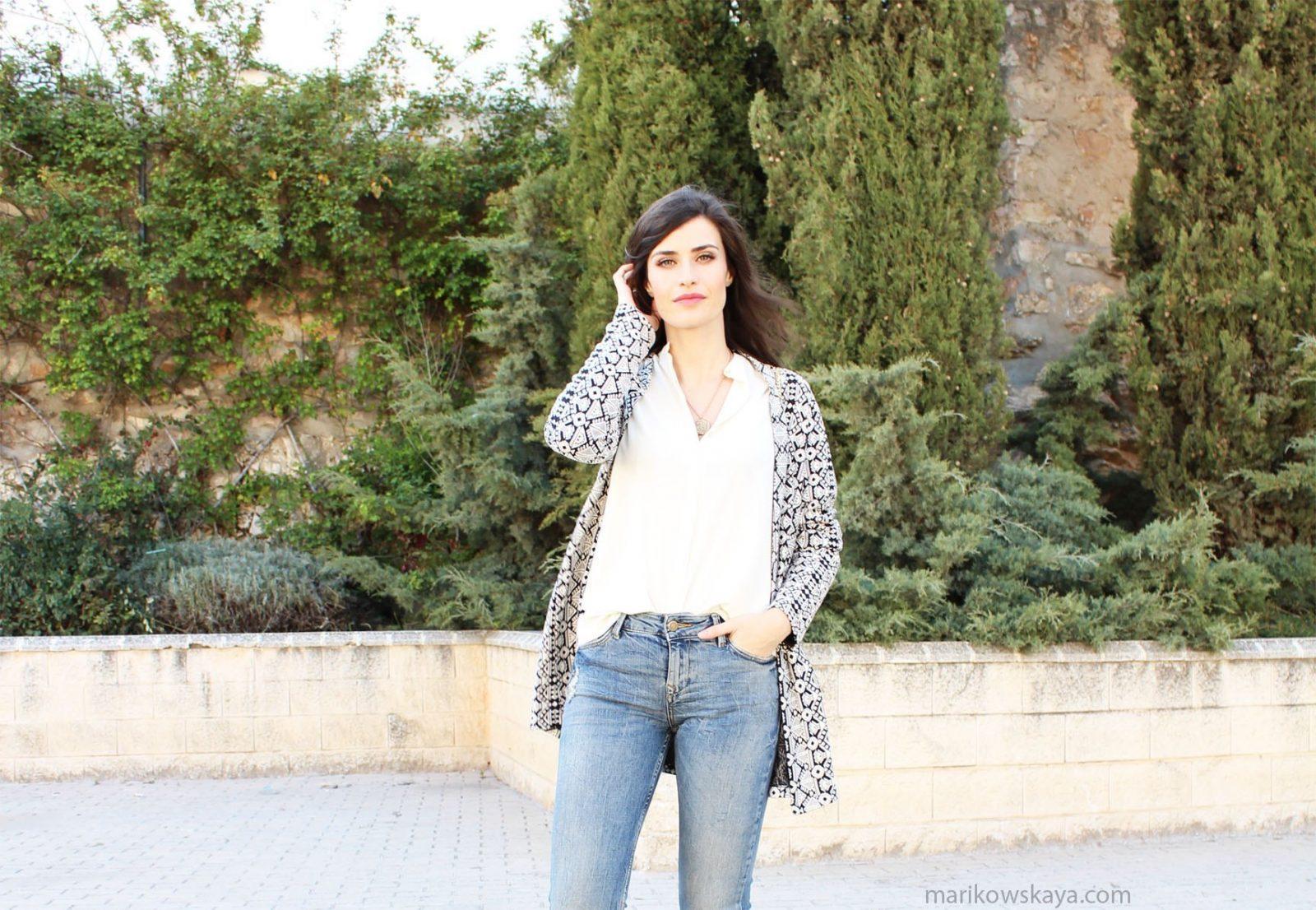 marikowskaya street style ripped jeans 7
