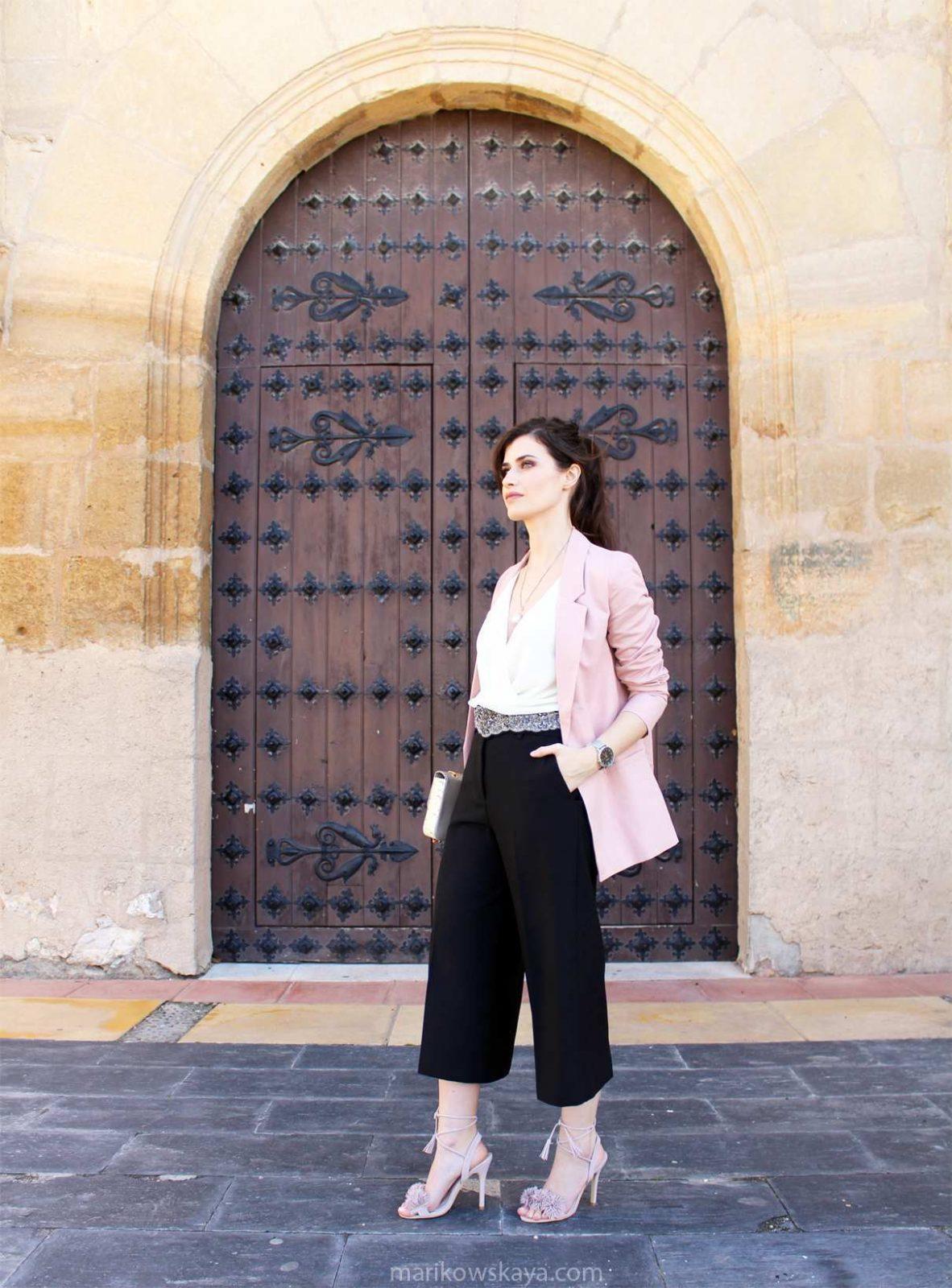 outfit bbc pantalón culotte