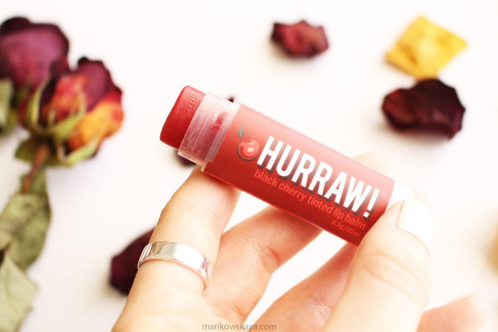 favoritos abril - hurraw lip balm