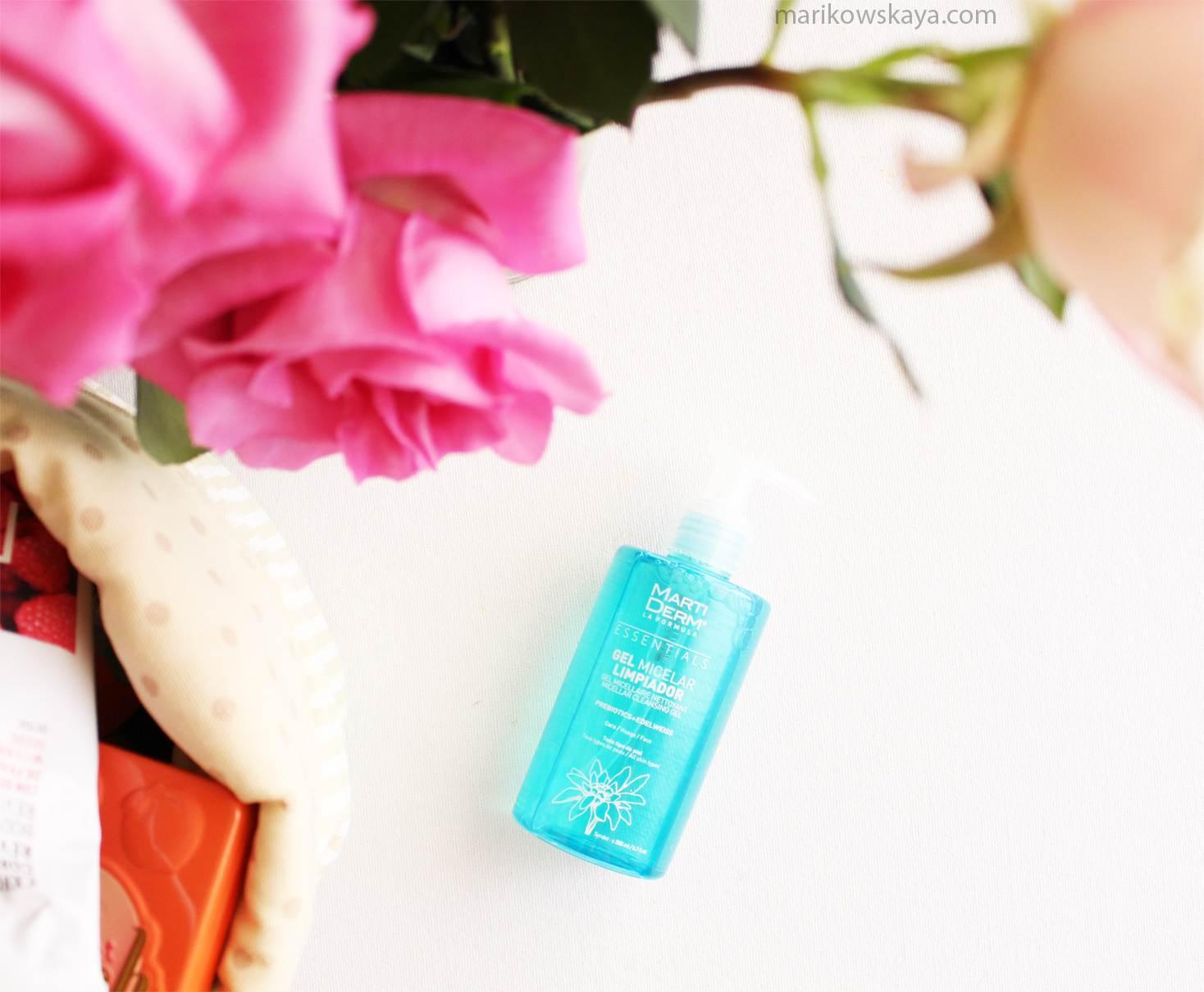 favoritos mayo - martiderm gel micelar limpiador
