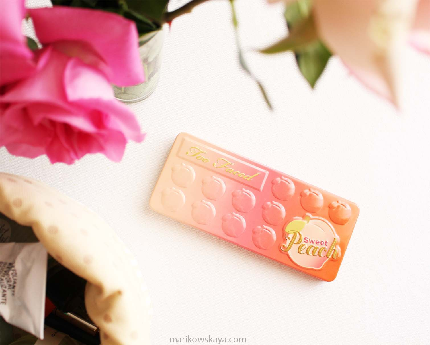favoritos mayo - sweet peach too faced