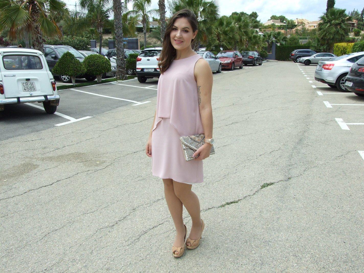 marikowskaya street style noelia vestido rosa palo (1)