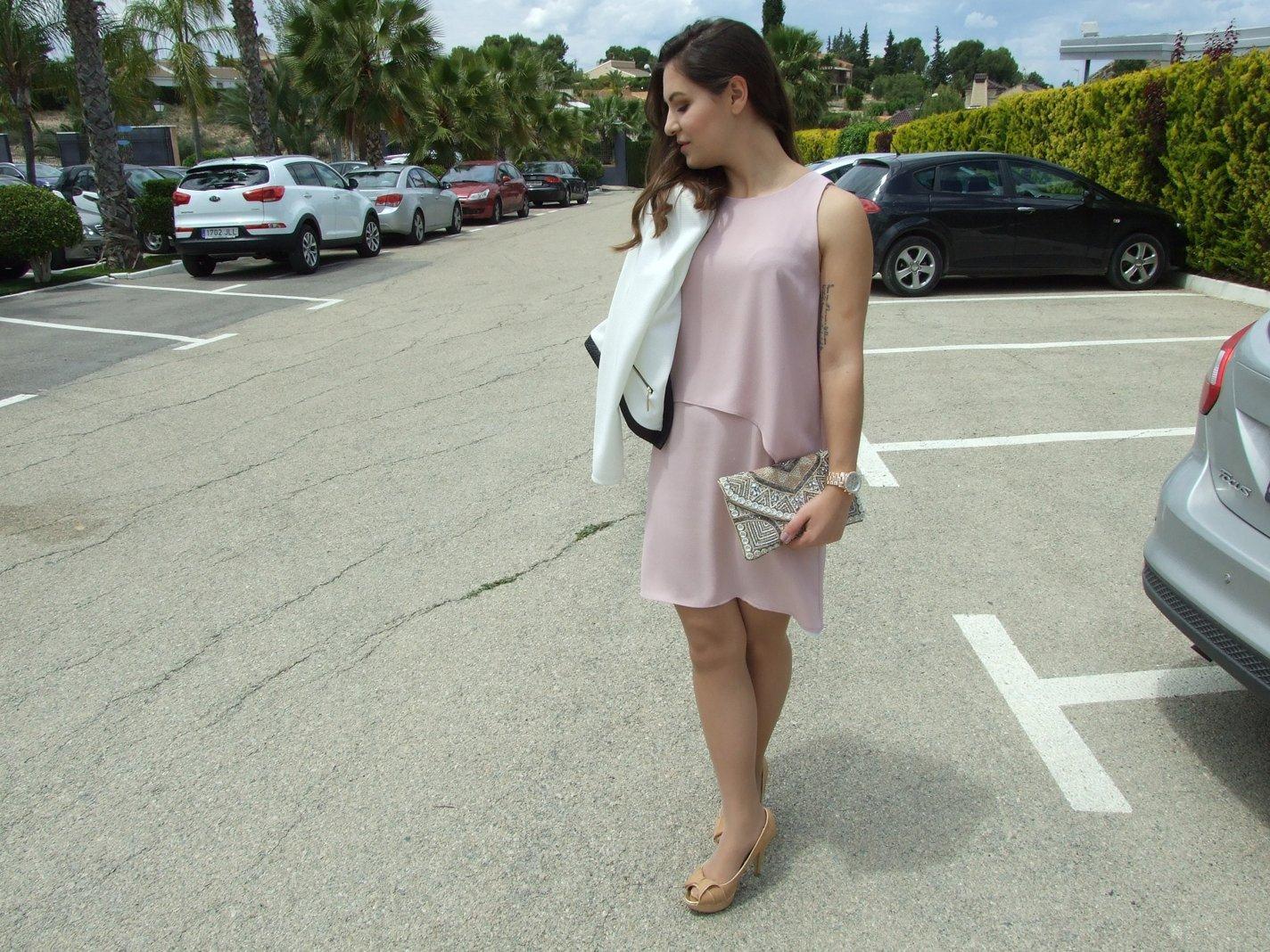 marikowskaya street style noelia vestido rosa palo (6)