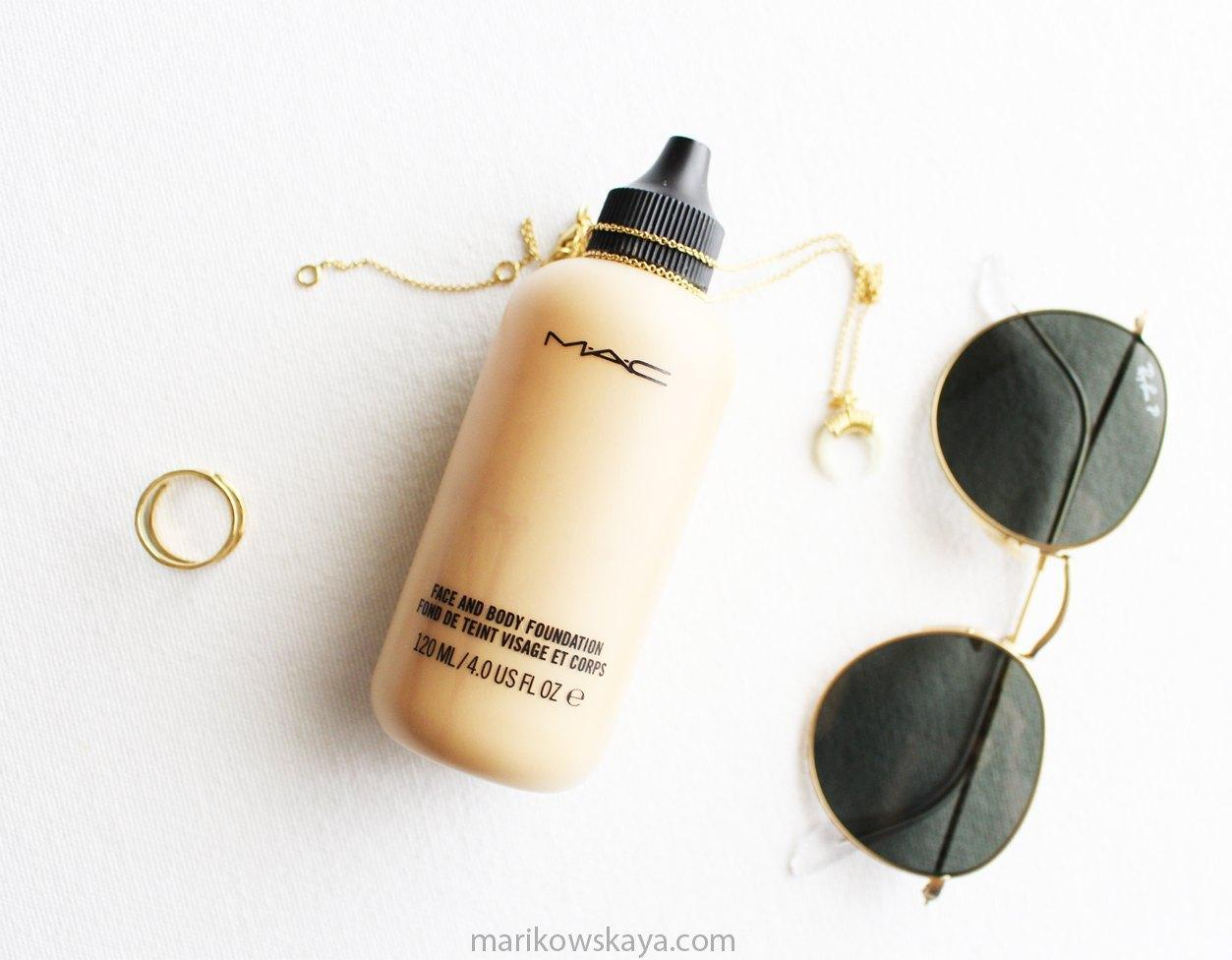 favoritos junio - mac face and body