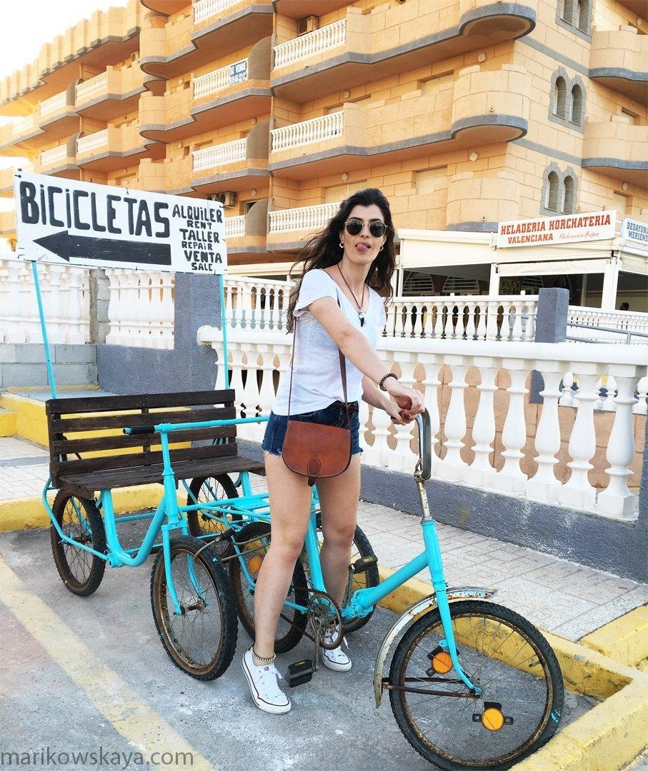 la manga - bici