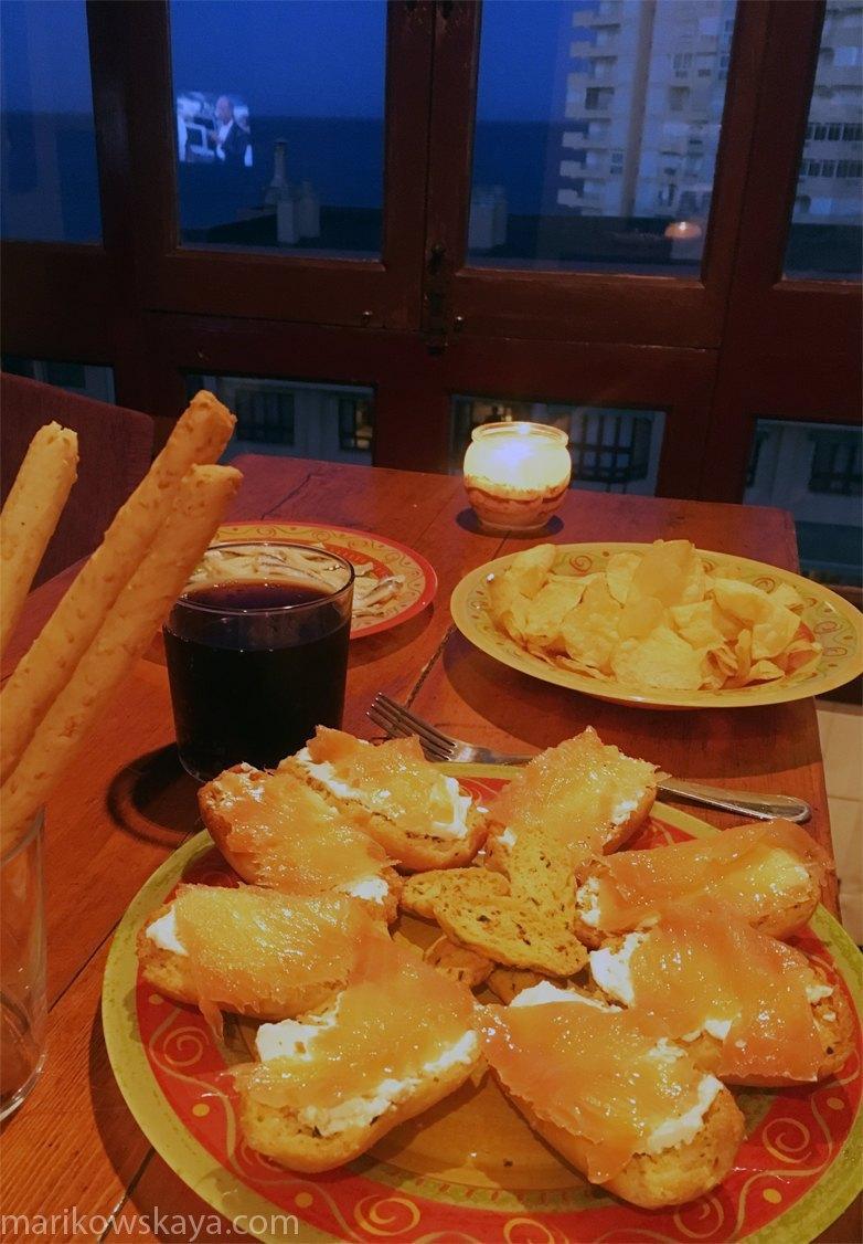 la manga - cena