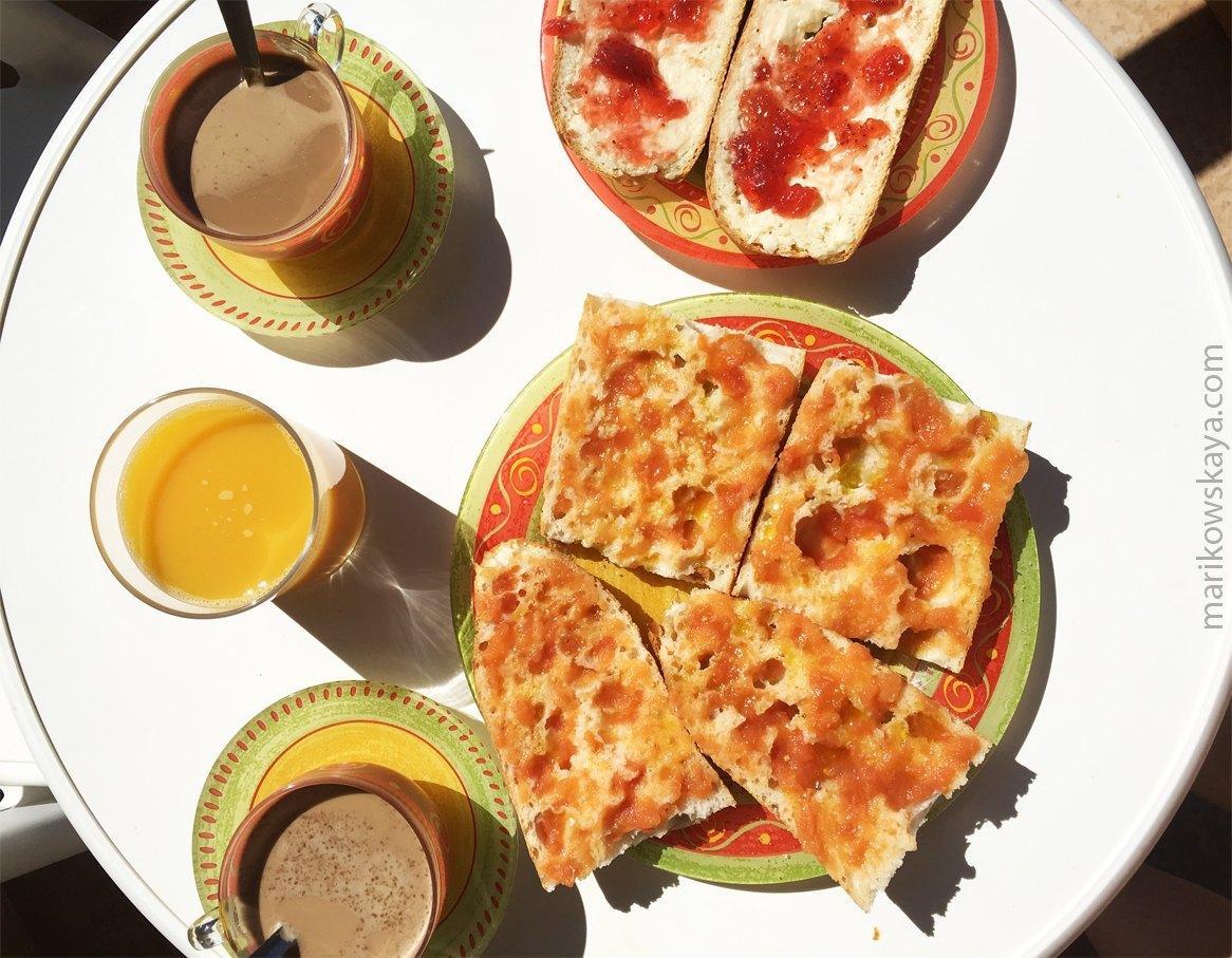 la manga - desayuno 2