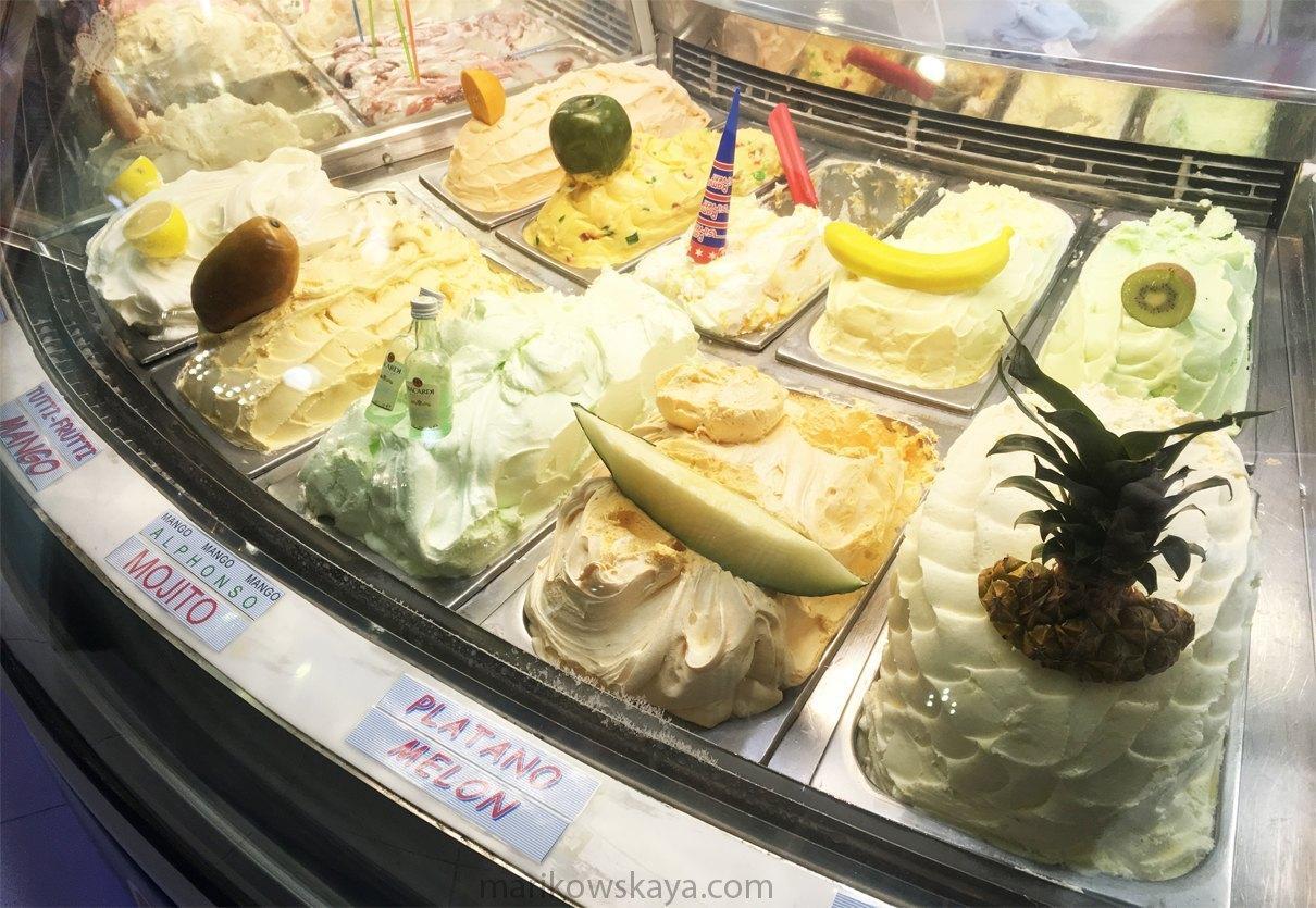 la manga - helado