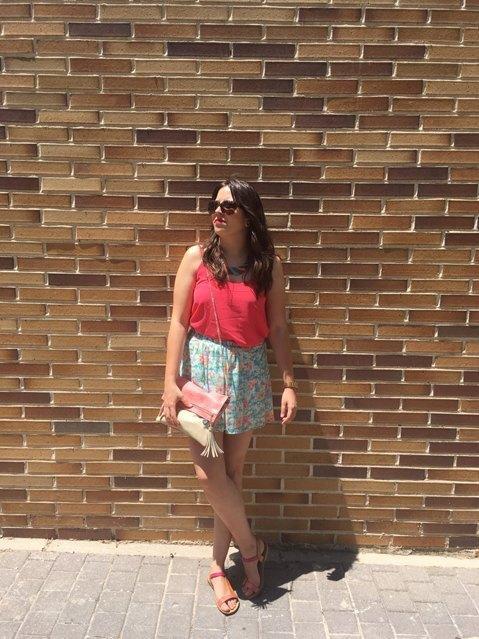 marikowskaya street style inma falda flores (2)