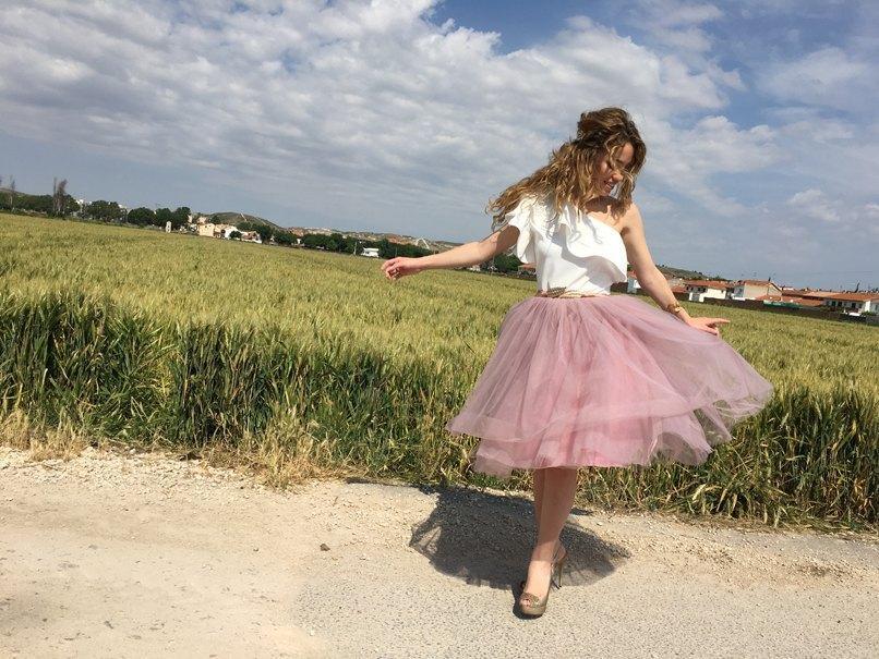 marikowskaya street style jennifer falda de tul (2)