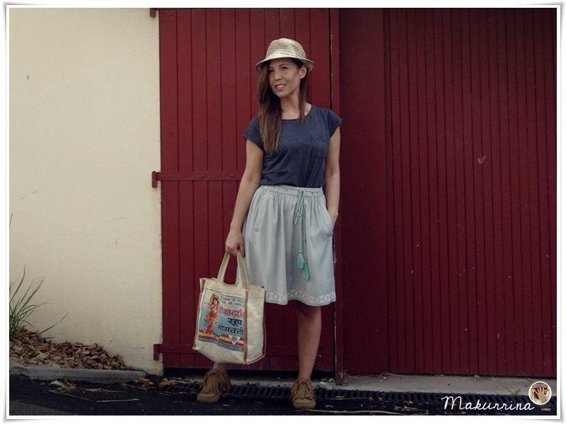 marikowskaya street style maku falda mint (5)