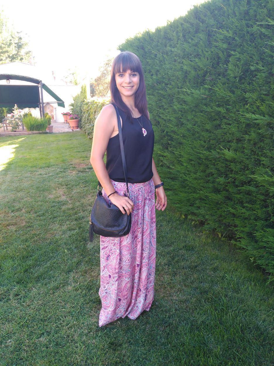 marikowskaya street style marta falda larga (1)