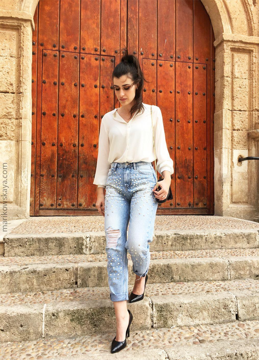 marikowskaya street style mom jeans (1)