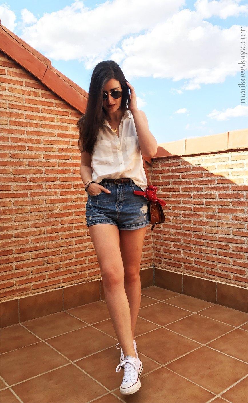 marikowskaya street style shorts 4