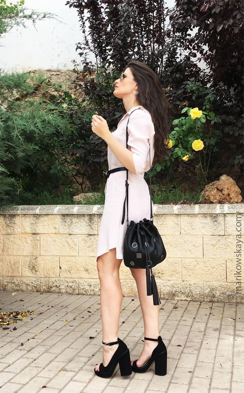 marikowskaya street style vestido camisero 7