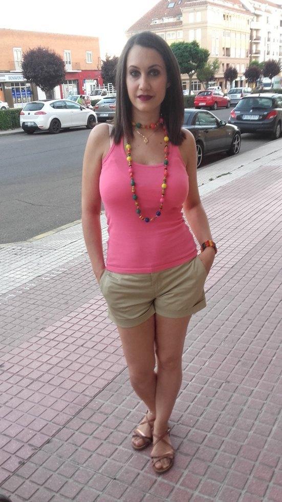 marikowskaya street style diana shorts beige (2)