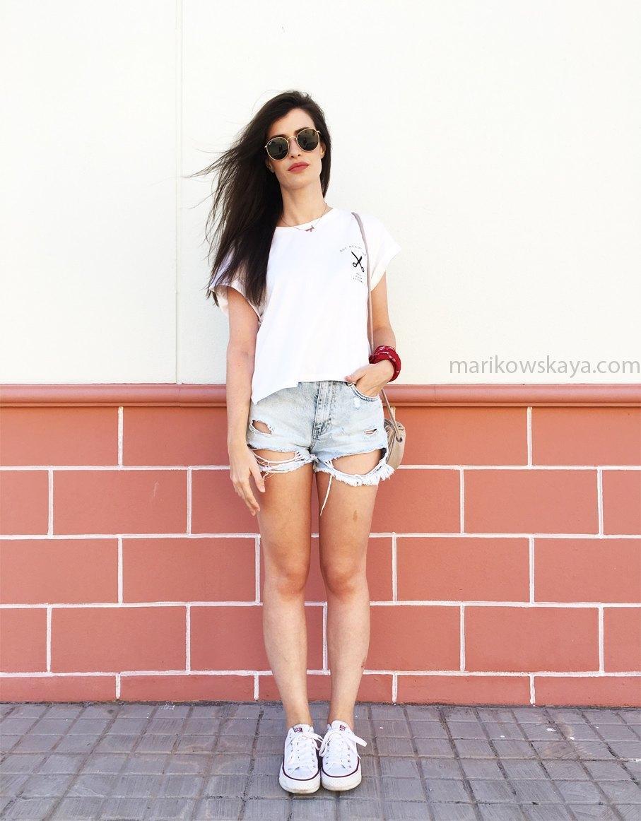 marikowskaya street style ripped jeans 11