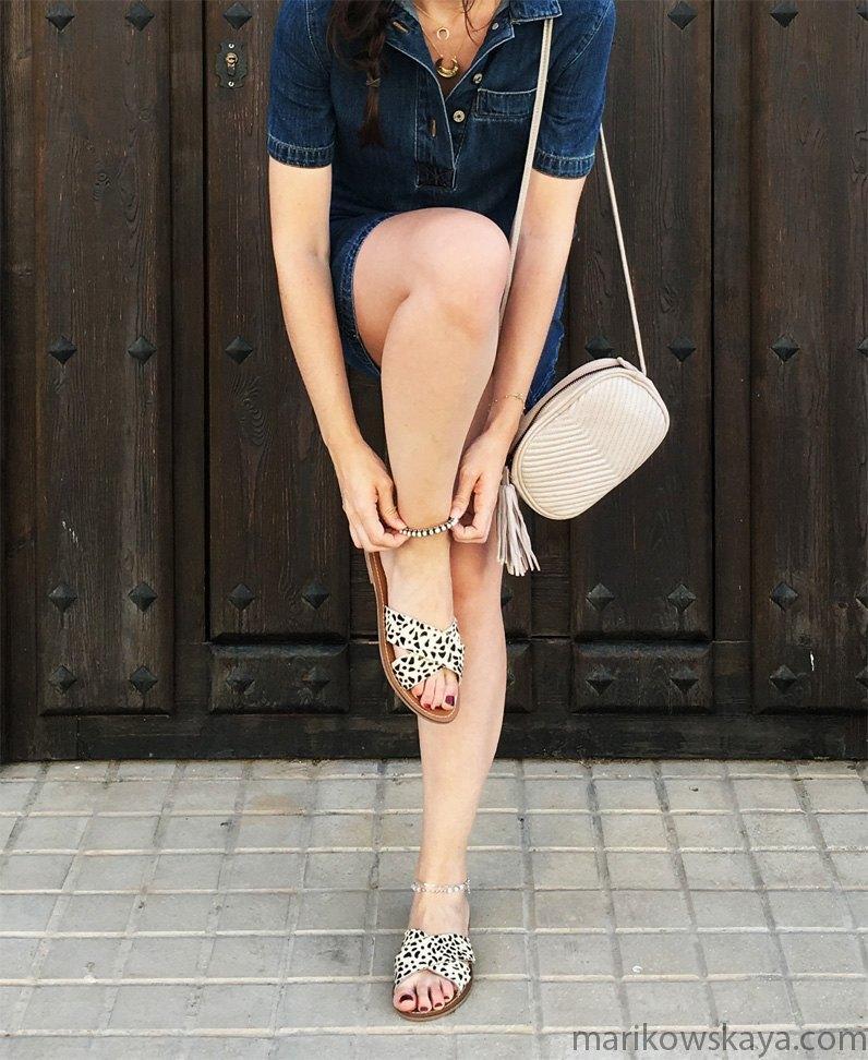 marikowskaya street style vestido vaquero 6