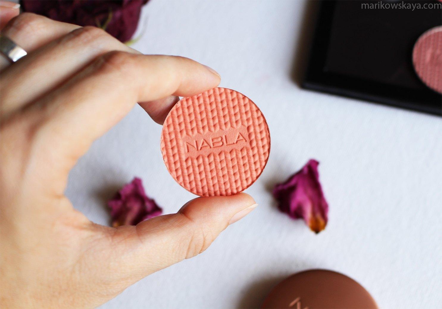 nabla blossom blush - nectarine
