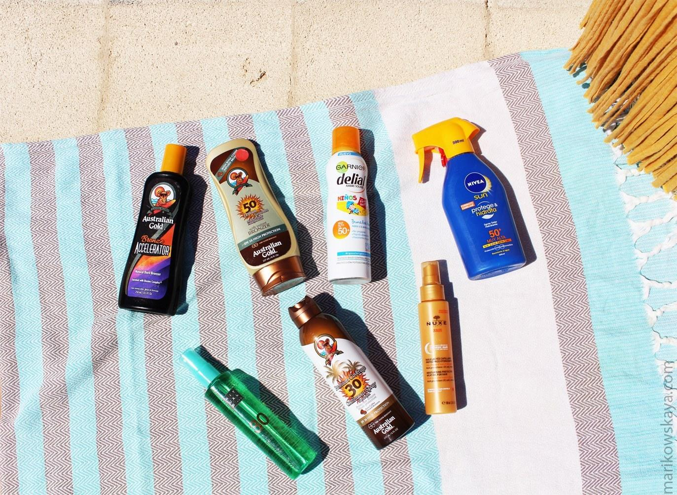 capazo piscina - protección solar