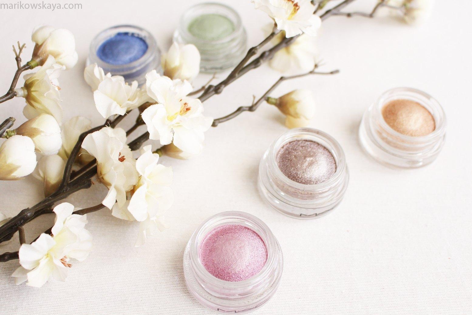 mac cosmetics soft serve eyeshadow 2
