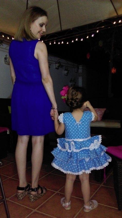 marikowskaya street style alicia vestido azul klein (1)