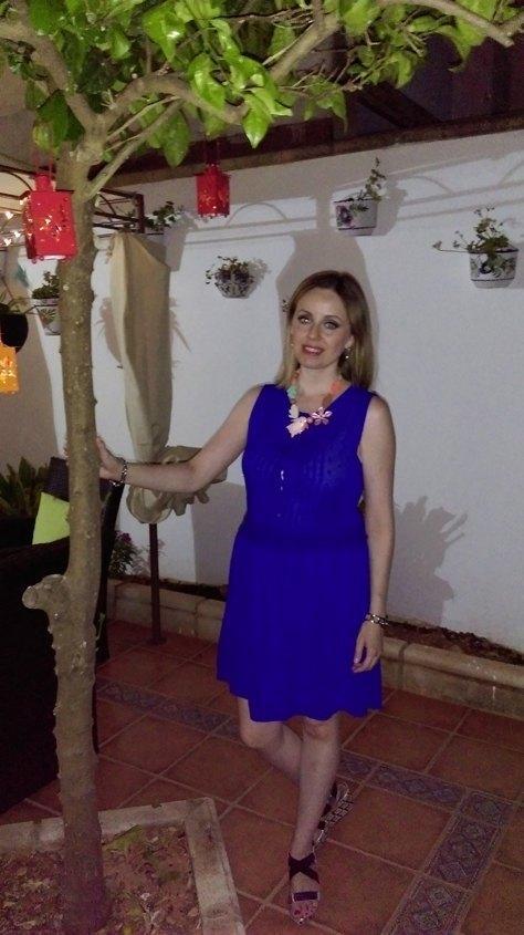 marikowskaya street style alicia vestido azul klein (2)