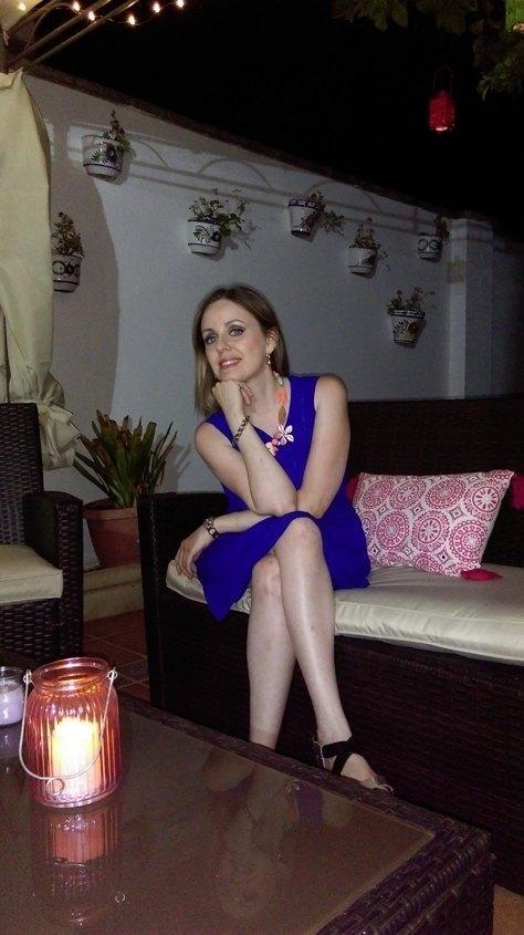 marikowskaya street style alicia vestido azul klein (3)