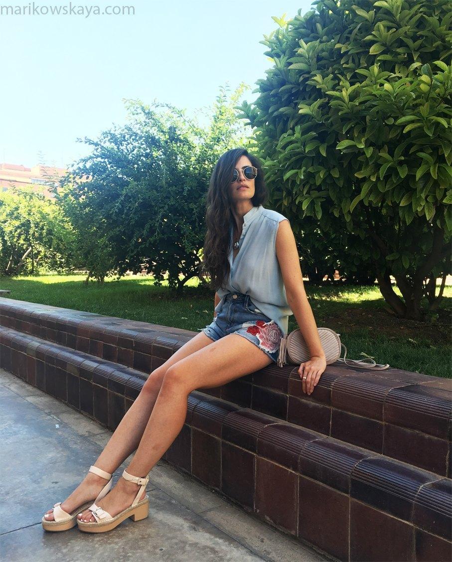 marikowskaya street style denim shorts 11