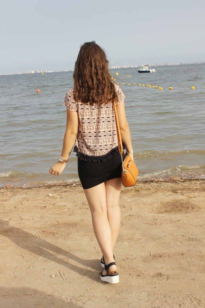 marikowskaya street style ladynoell falda negra (1)