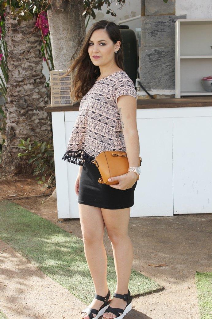 marikowskaya street style ladynoell falda negra (5)
