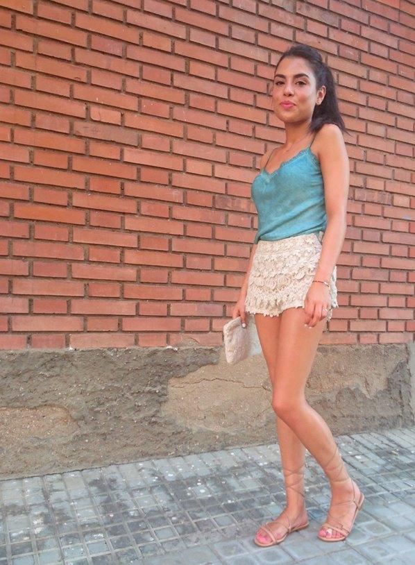 marikowskaya street style lu shorts crochet (4)