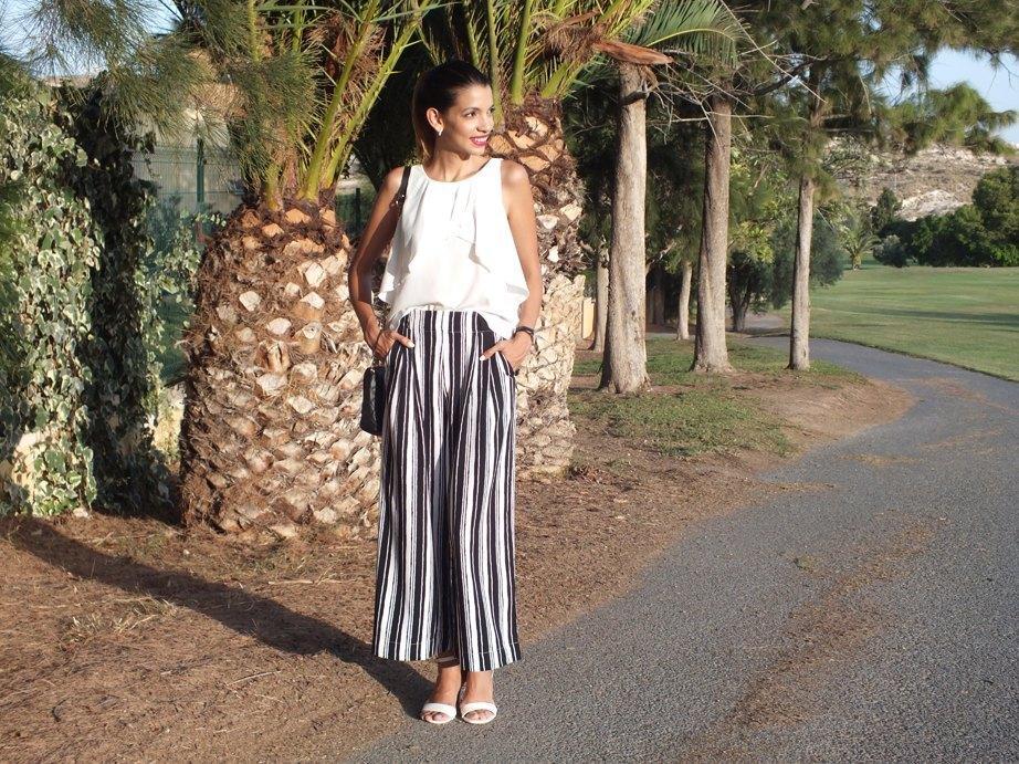 marikowskaya street style pantalones de rayas (3)