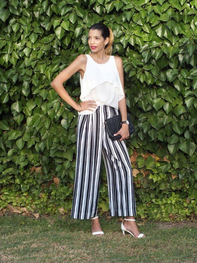 marikowskaya street style pantalones de rayas (5)
