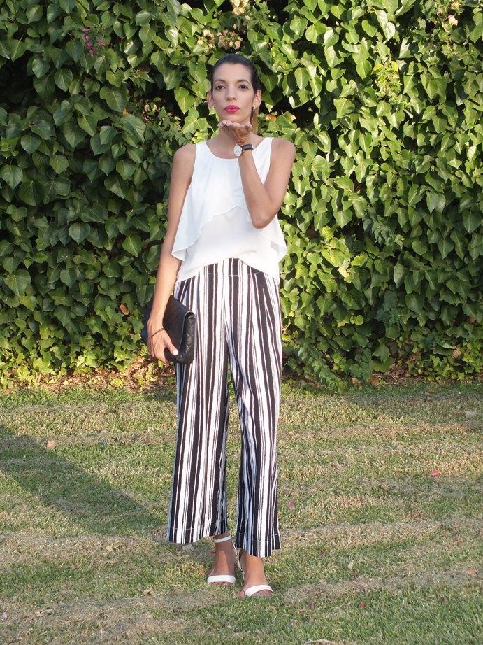 marikowskaya street style pantalones de rayas (7)