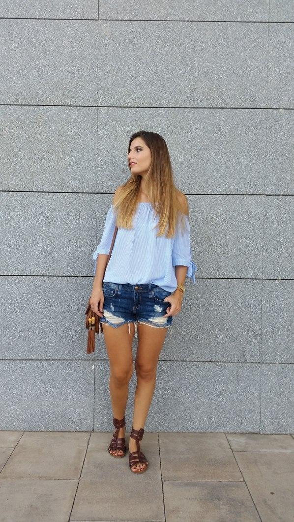 marikowskaya street style andrea shorts vaqueros (3)